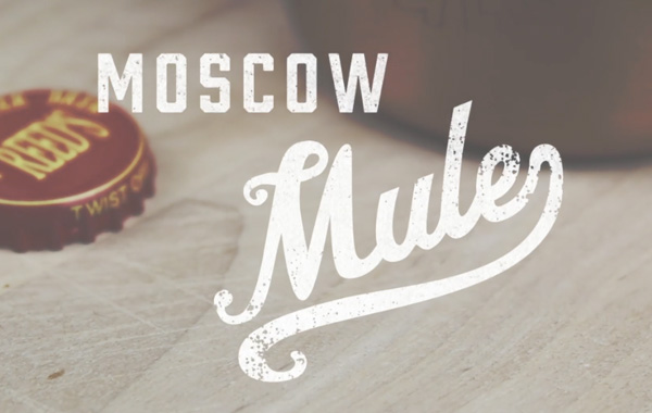 Making a Moscow Mule