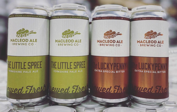 MacLeod Ale Brewing Co. Label